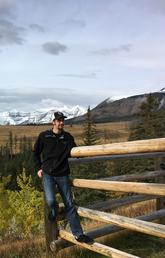 Devin Drozdz's internship is in the central Alberta municipality of Clearwater County. Photo courtesy Devin Drozdz