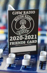 CJSW Friends Card