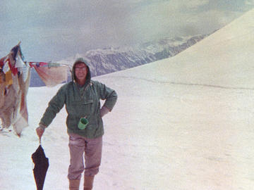 Richard at Rhotang Pass in the Himalayas in 1965.