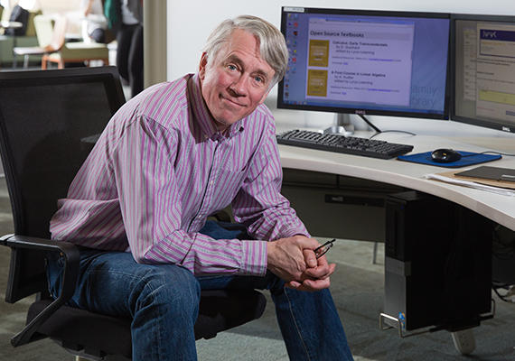 Mathematics professor Claude Laflamme founded Lyryx with Open Texts, an online educational resource company.