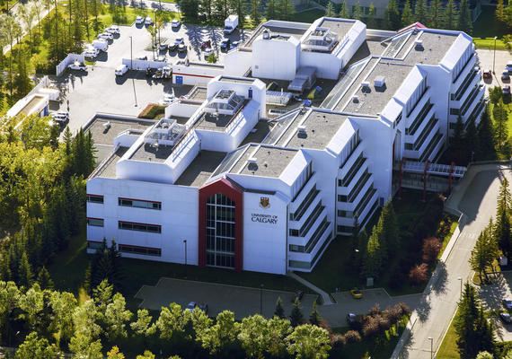 Aerial shot of Univeristy Research Park.
